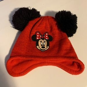 🌻 FREE w/ Purchase - Girls Minnie Mouse Toque